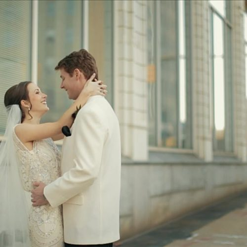 wedding at the Florentine in Birmingham, Alabama