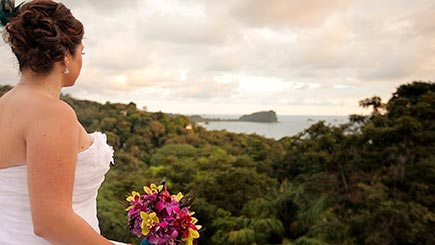 Costa Rica Wedding Video - Bride