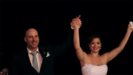Costa Rica Wedding Video - Bride and Groom