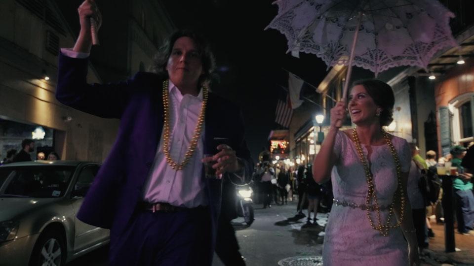 New Orlean Wedding Video - Bourbon Street